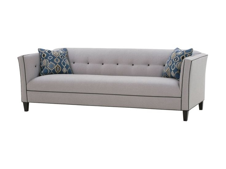 Most Popular One Cushion Couch Single Cushion Slipcover Sofa Long Relaxing Inside One Cushion Sofas (View 5 of 10)