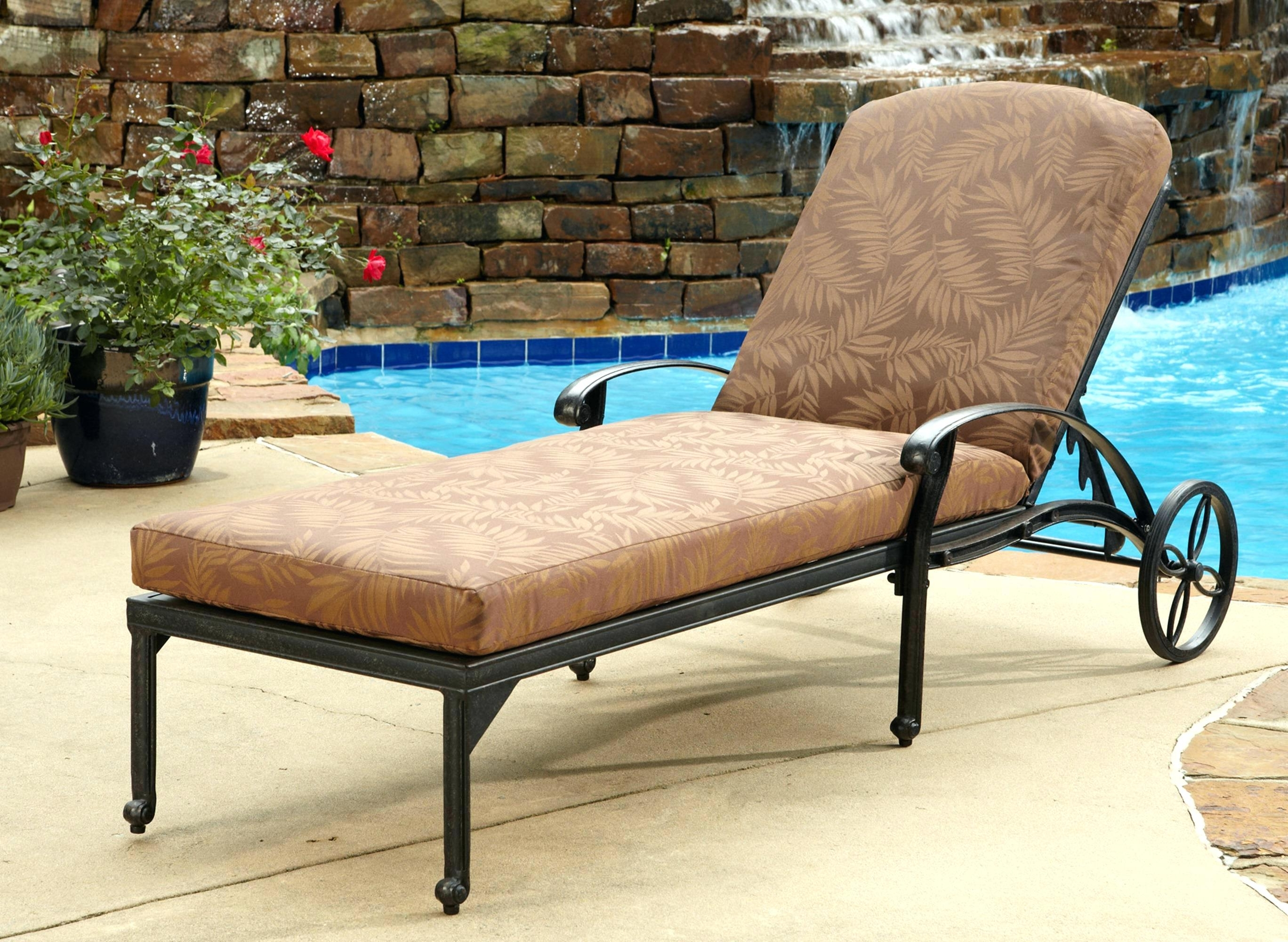 Most Popular Outdoor Brown Wicker Lounge Chairs • Lounge Chairs Ideas For Eliana Outdoor Brown Wicker Chaise Lounge Chairs (View 12 of 15)