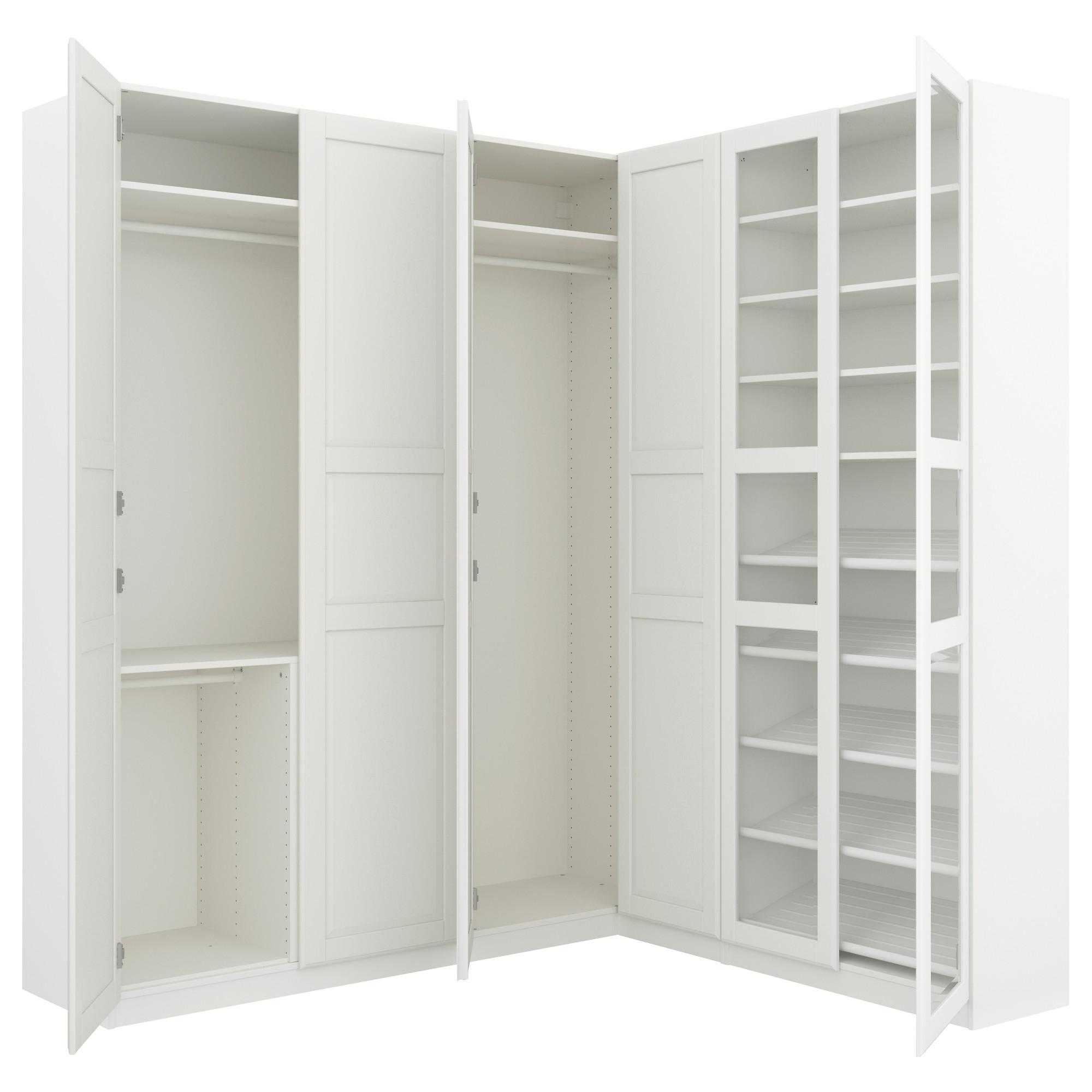 """Most Popular Pax Corner Wardrobe – 82 3/4/73 7/8X93 1/8 """" – Ikea In 1 Door Corner Wardrobes (View 10 of 15)"""