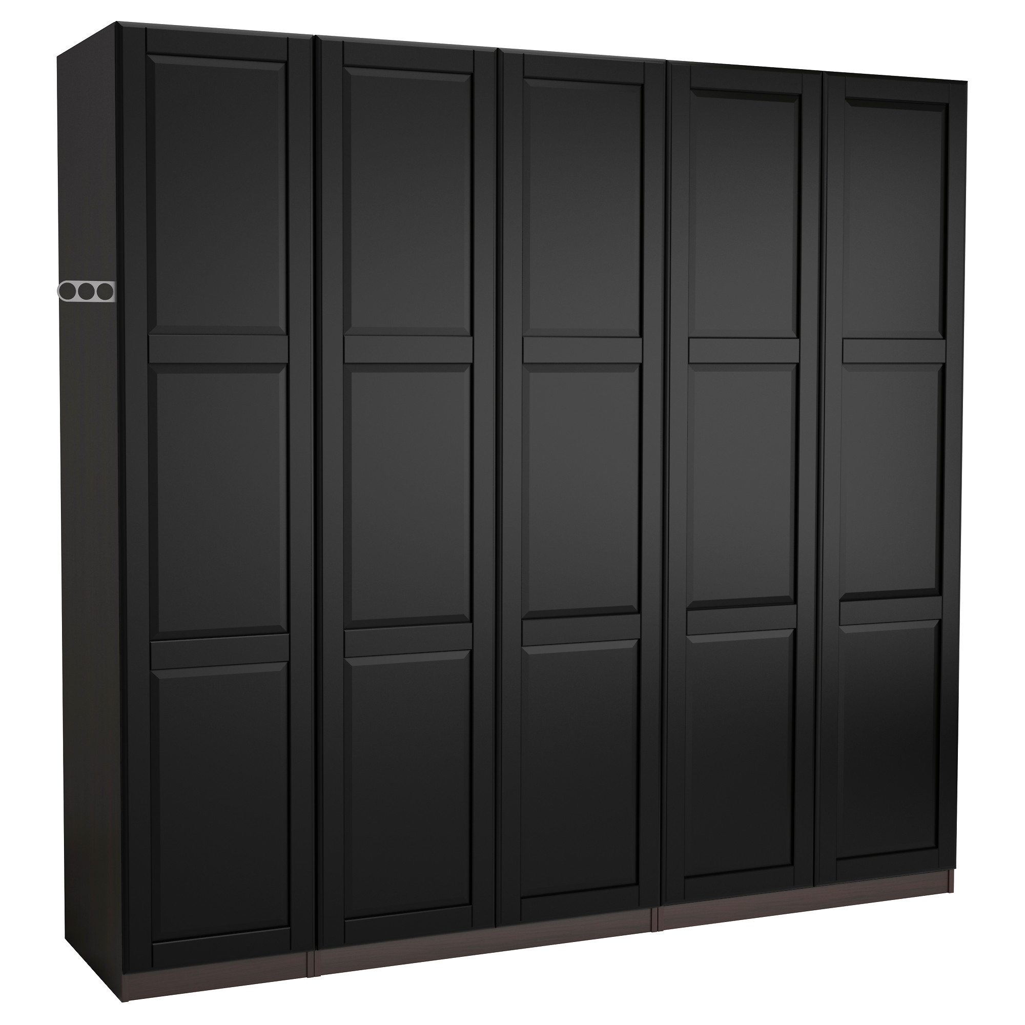Most Popular Pax Wardrobe – 250X60X201 Cm – Ikea For Black Wardrobes (View 13 of 15)