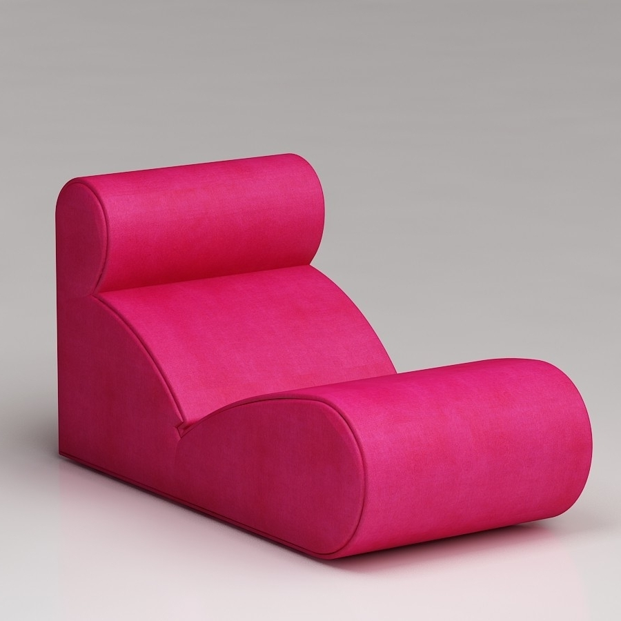 Most Popular Pink Chaise Lounge Chairs • Lounge Chairs Ideas Throughout Hot Pink Chaise Lounge Chairs (View 9 of 15)