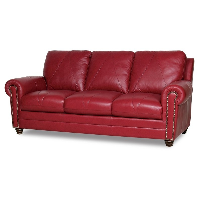 Most Popular Red Barrel Studio Barnstormer Leather Sofa & Reviews (View 4 of 10)