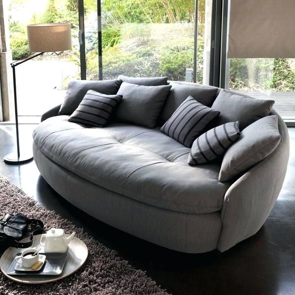 Most Popular Round Sofas Furniture Best Round Sofa Ideas On Round Sofa Chair With Regard To Round Sofas (View 4 of 10)