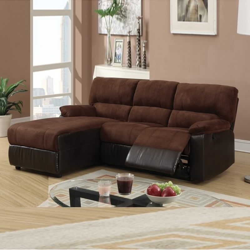 Most Popular Sectional Sofa Design: Reclining Sectional Sofas For Small Spaces With Regard To Sectional Sofas For Small Spaces With Recliners (View 5 of 10)