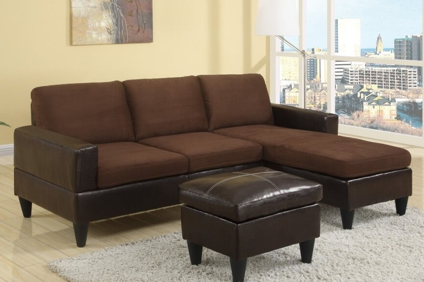 Most Popular Small Sectional Sofas With Chaise And Ottoman Intended For 40 Cheap Sectional Sofas Under $500 For  (View 5 of 10)