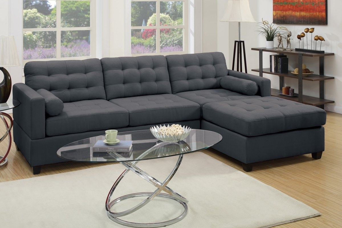 Most Popular Sofas With Reversible Chaise Lounge Regarding Kingsport Reversible Sectional & Reviews (View 8 of 15)