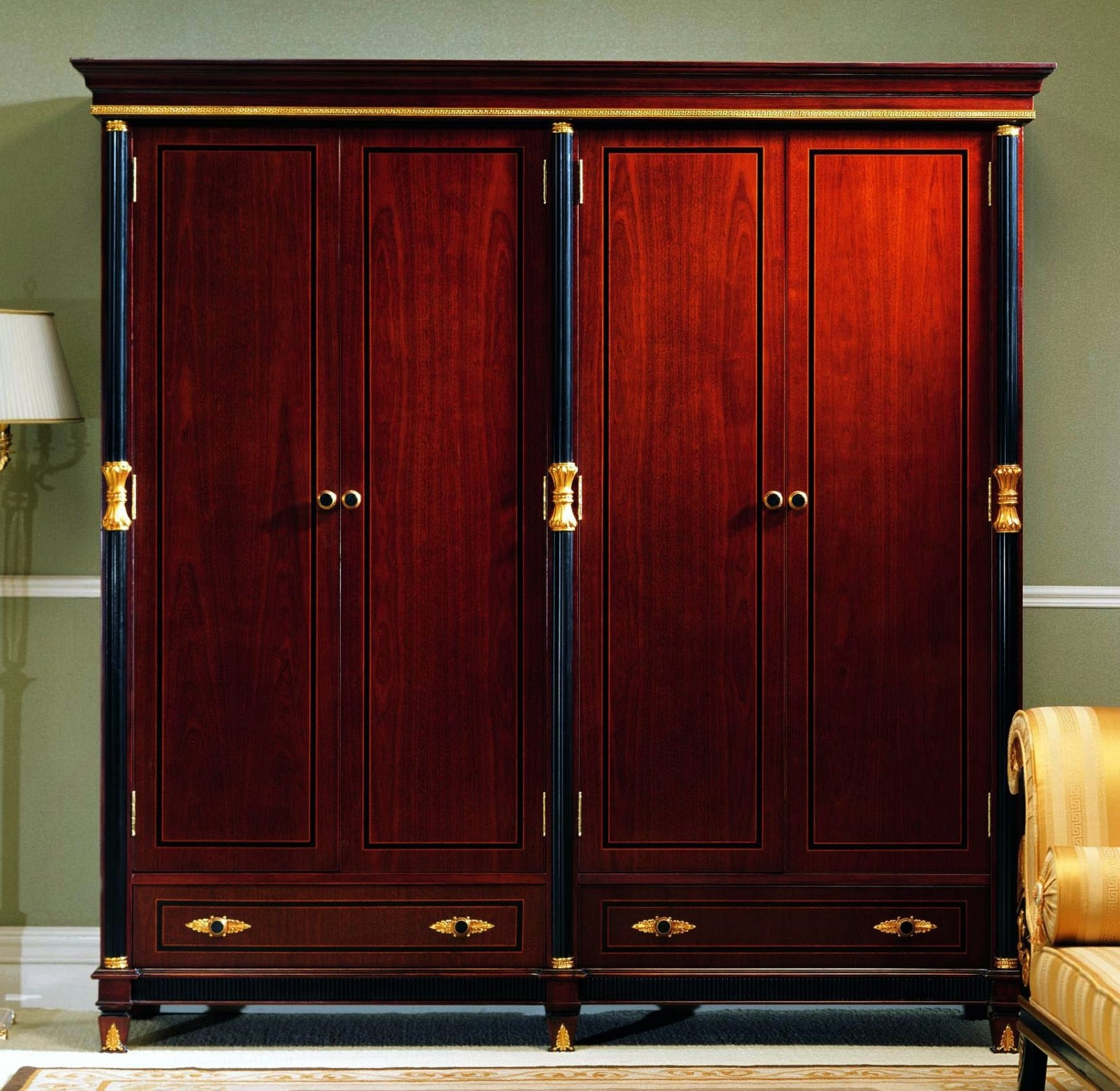 Most Popular Wardrobes And Armoires Within Mahogany Armoires Wardrobes (View 4 of 15)