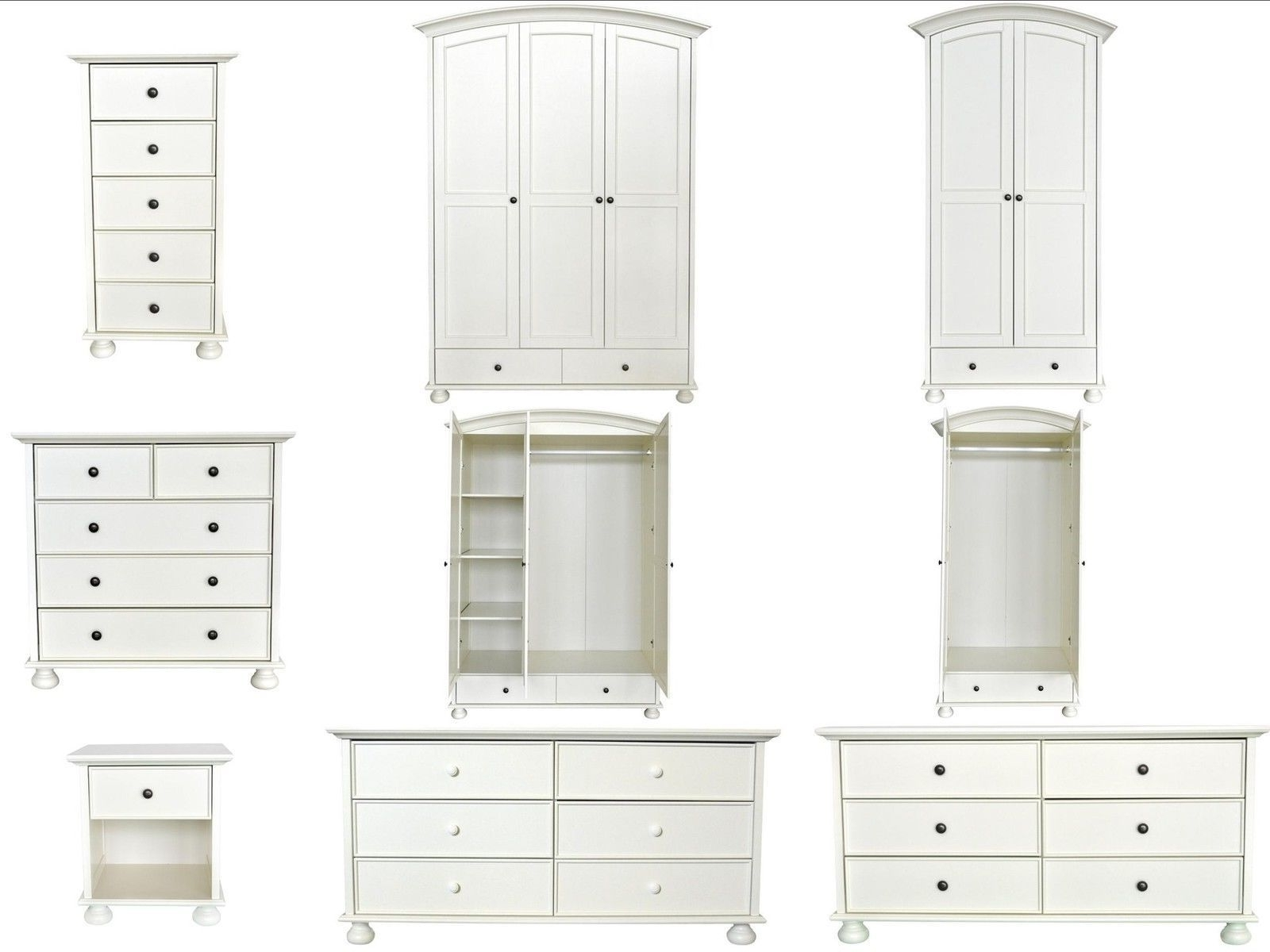 Most Popular White Wood Wardrobes For Sale Wooden Uk Wardrobe Ebay Beautiful Within White Wooden Wardrobes (View 4 of 15)