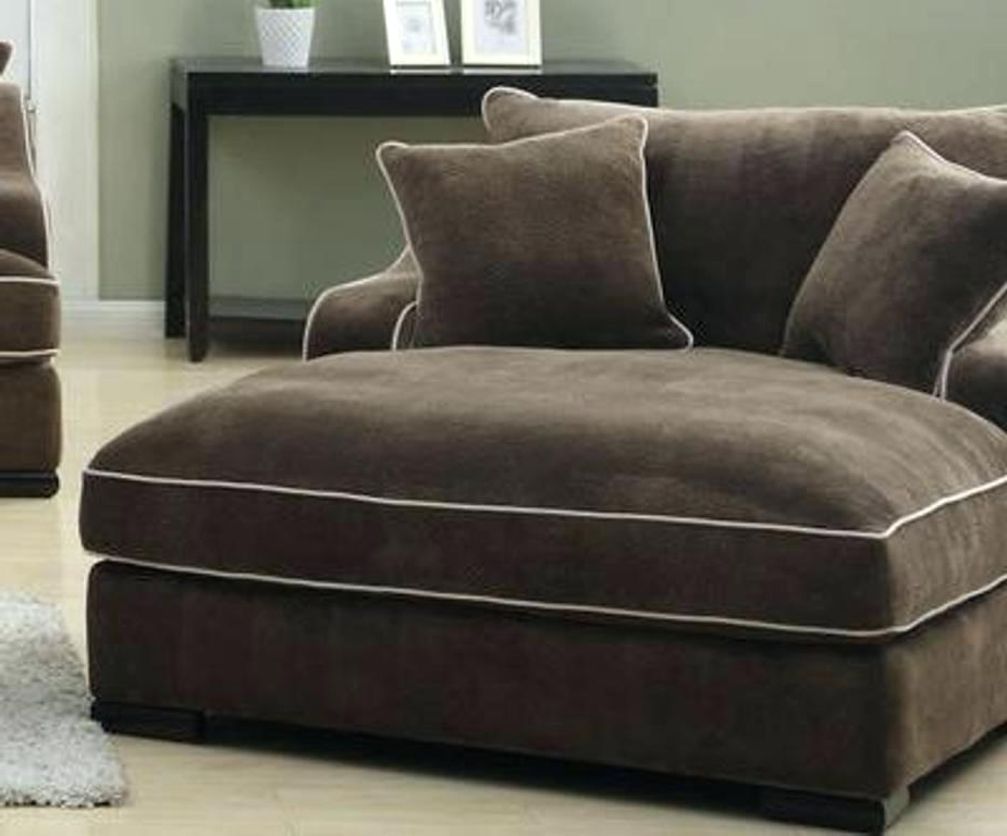 Most Popular Wide Chaise Lounge Chair Amazing Of Double Chaise Lounge Sofa Regarding Wide Sofa Chairs (View 5 of 10)