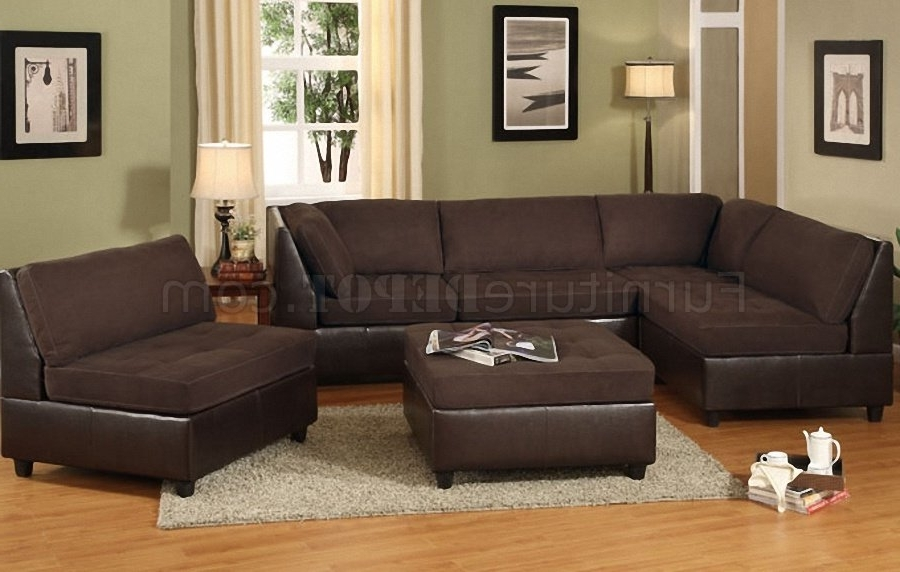 area faux sectional sofas leather best furniture w most recent armchairs base sofa inside chocolate brown living
