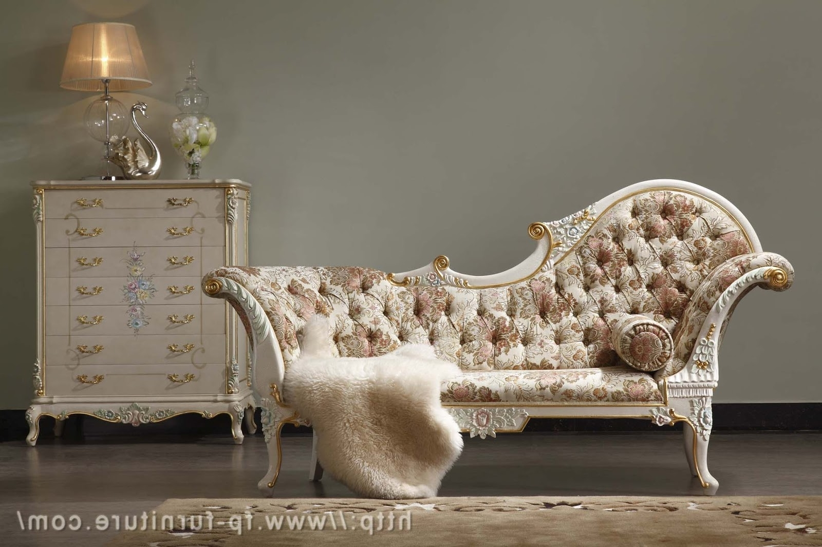 Most Recent Filiphs Palladio: Italian Classic Hand Carved Royal Furniture With Regard To European Chaise Lounge Chairs (View 3 of 15)