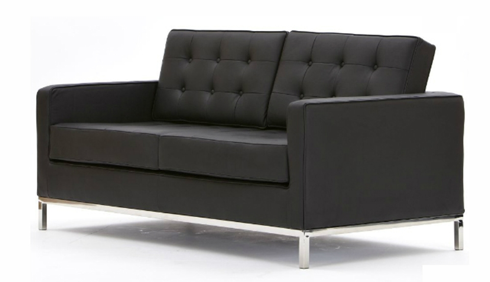 Most Recent Florence Knoll 2 Seater Leather Sofa In Florence Leather Sofas (View 10 of 10)