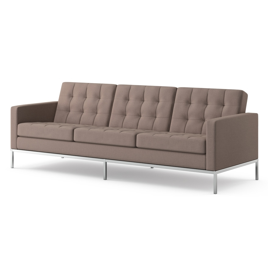 Most Recent Florence Knoll Wood Legs Sofas Throughout Florence Knoll Sofa (View 9 of 10)