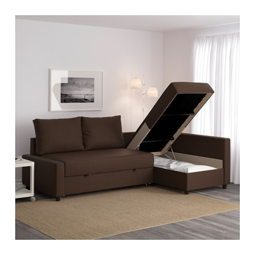 Most Recent Friheten Corner Sofa Bed With Storage Skiftebo Brown – Ikea Throughout Ikea Corner Sofas With Storage (View 7 of 10)