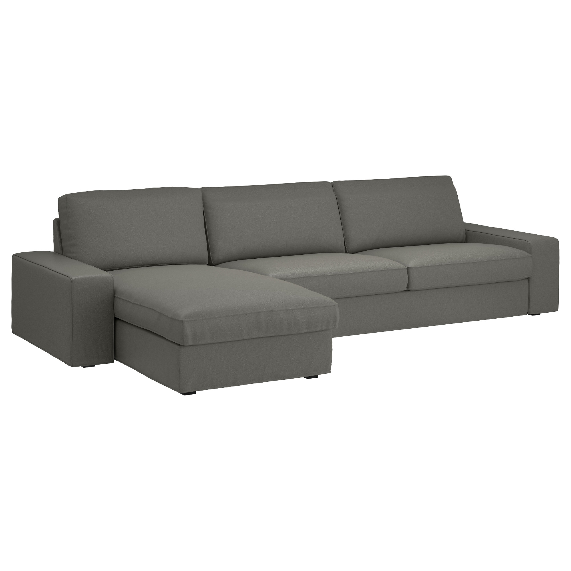 Most Recent Ikea Chaise Lounges In Kivik Sectional, 4 Seat – Hillared Beige – Ikea (View 8 of 15)