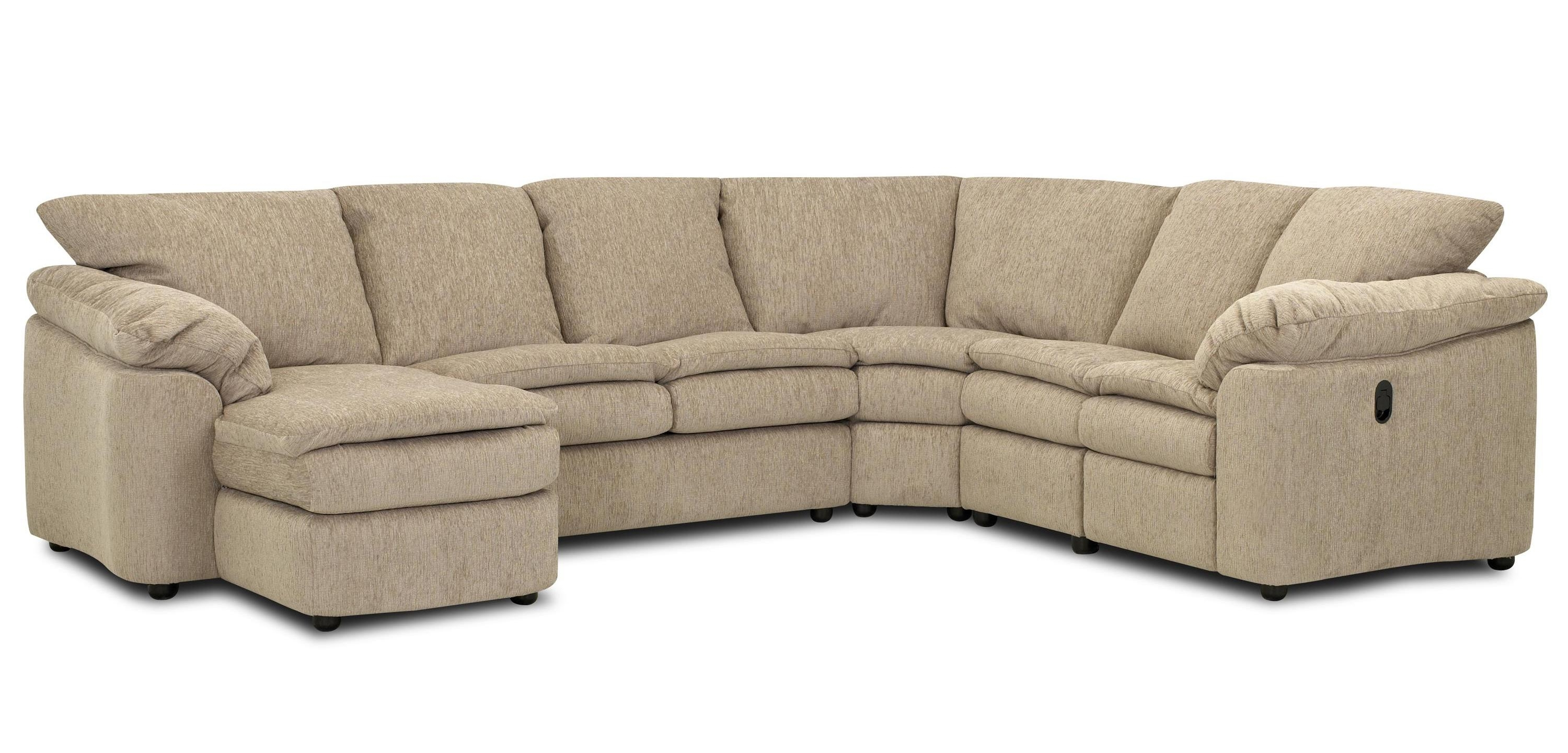 Most Recent Klaussner Legacy Dual Reclining Left Arm Loveseat, Sleeper And Pertaining To Loveseat Chaises (View 7 of 15)