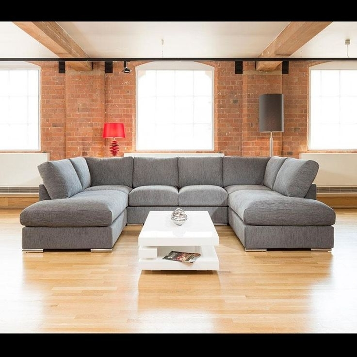Most Recent Large U Shaped Sectionals With U Shaped Couch Grey : Mtc Home Design – How To Use U Shaped Couch (View 7 of 10)