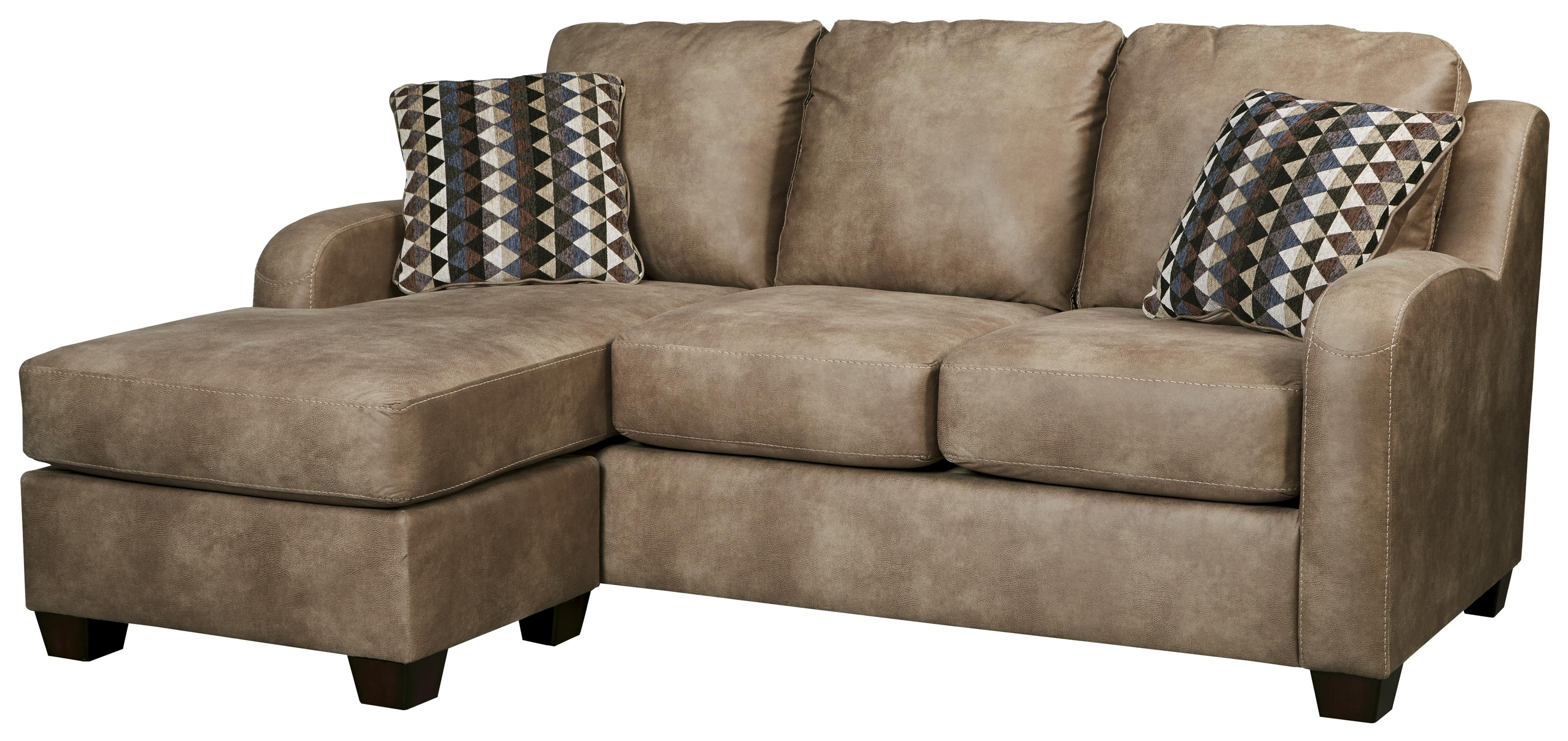 Most Recent Leather Sofas With Chaise With Regard To Contemporary Faux Leather Sofa Chaisebenchcraft (View 14 of 15)