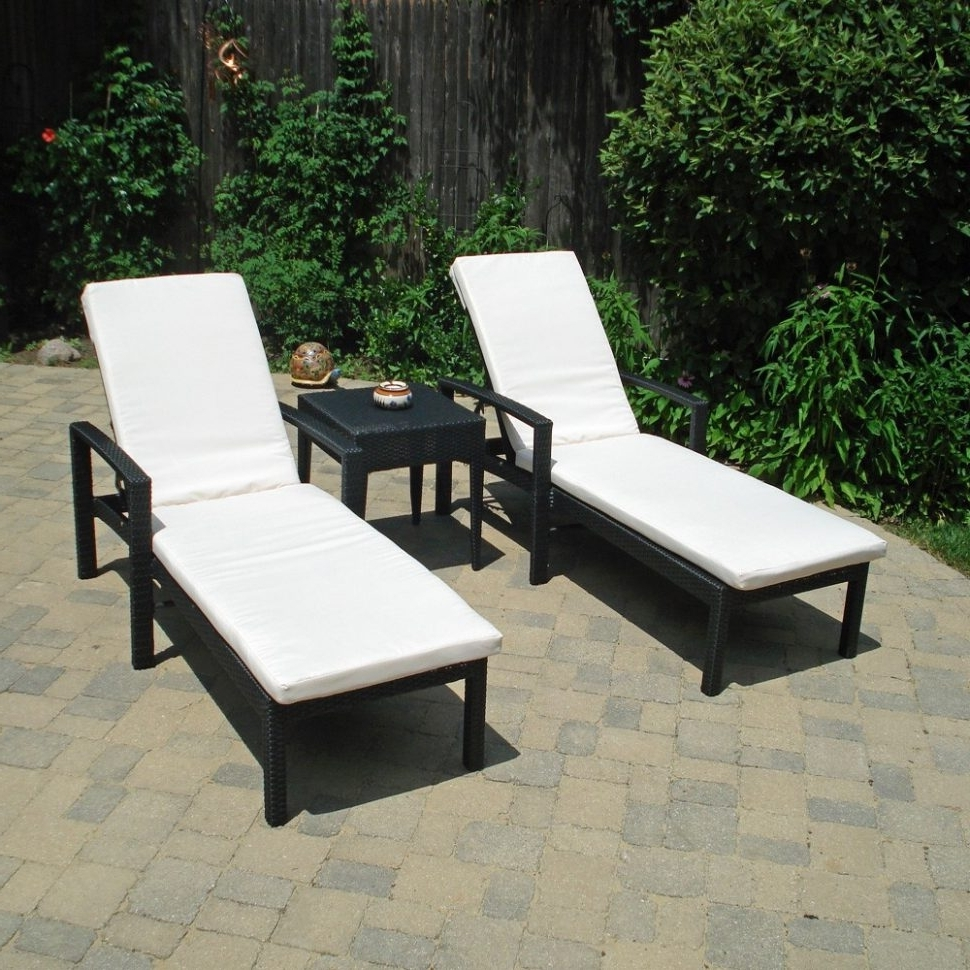 Most Recent Lounge Chair : White Wicker Outdoor Chaise Lounge Grey Chaise With Regard To Chaise Lounge Chairs For Outdoor (View 7 of 15)