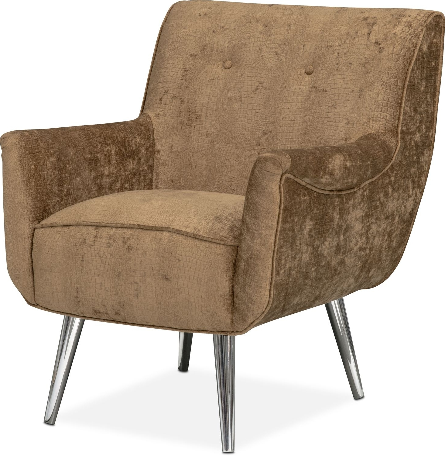 Most Recent Moda Accent Chair – Caramel (View 14 of 15)