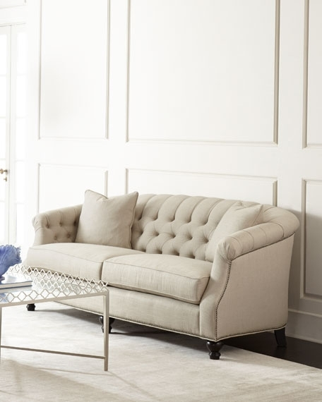 Featured Photo of Tufted Linen Sofas
