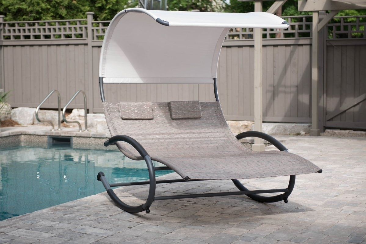 Most Recent Outdoor : Double Chaise Chair Oversized Chaise Lounge Indoor Extra For Extra Wide Outdoor Chaise Lounge Chairs (View 11 of 15)