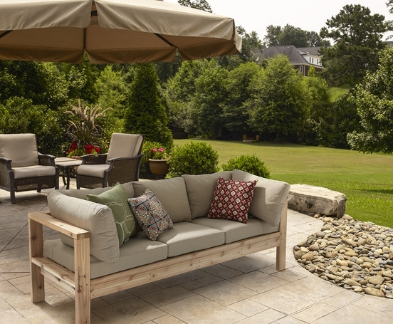 Most Recent Outdoor Sofa Chairs With Ana White (View 4 of 10)