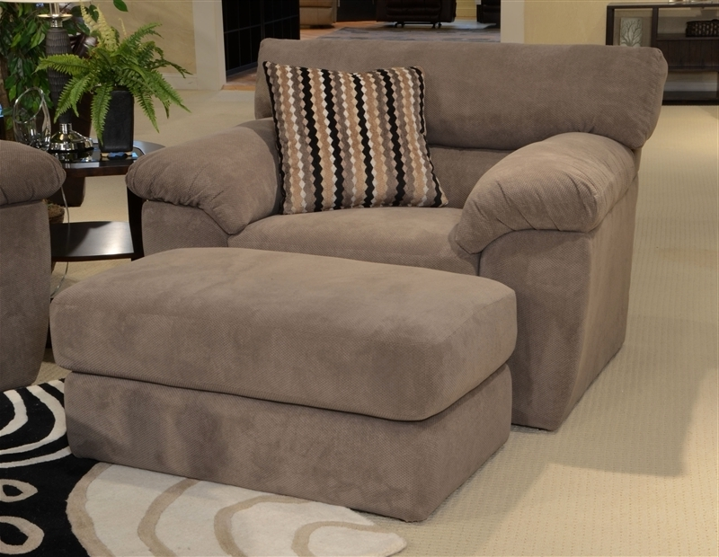 "Most Recent Oversized Sofa Chairs Regarding Oversized Chair In ""granite"" Fabricjackson Furniture – 3186  (View 7 of 10)"