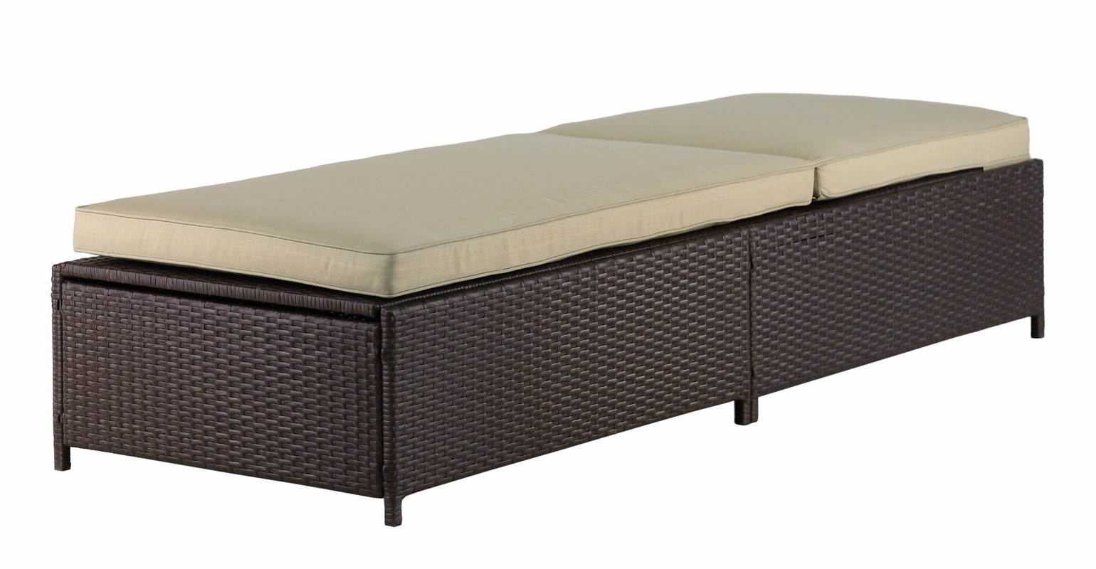 Most Recent Serta At Home Laguna Outdoor Storage Chaise Lounge & Reviews (View 11 of 15)