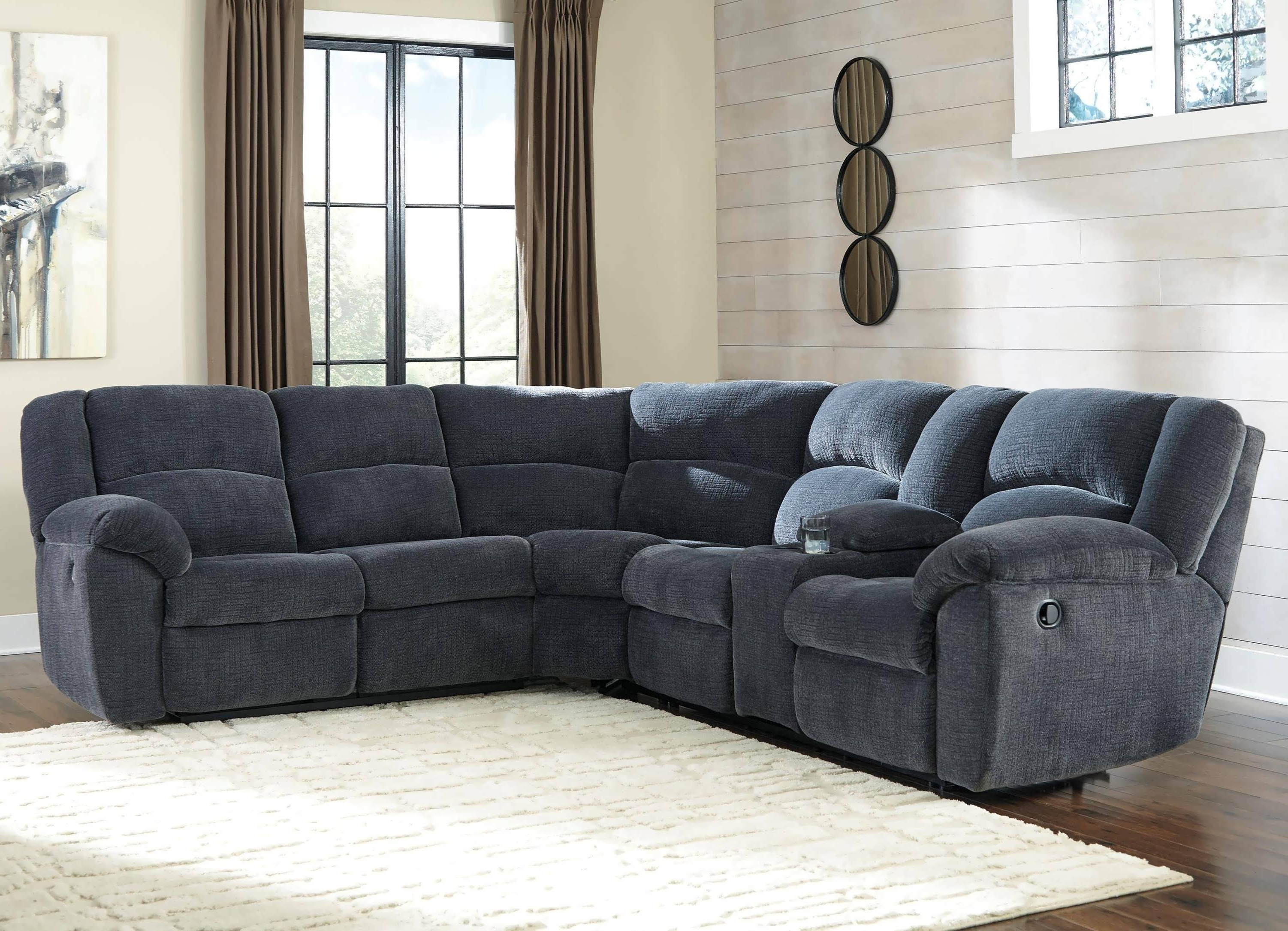 Most Recent Sofa : Pit Sectional Sectional Sofas With Recliners Grey Leather Inside Chaise Recliners (View 10 of 15)