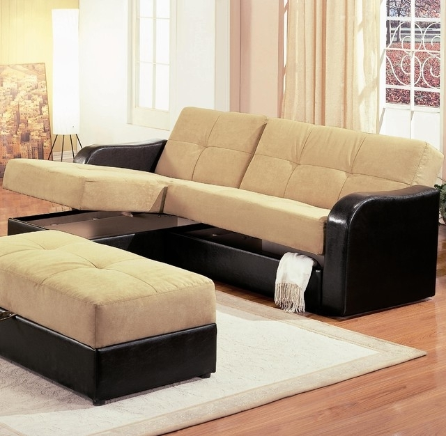 Most Recent Stunning Sectional Sofas With Sleepers Sofa Beds Design Pertaining To Sectional Sleeper Sofas With Ottoman (View 6 of 10)