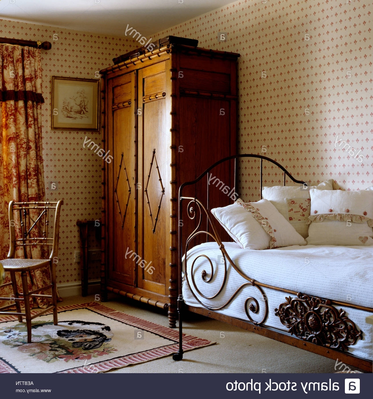 Most Recent Victorian Interior Stock Photos & Victorian Interior Stock Images With Victorian Style Wardrobes (View 6 of 15)