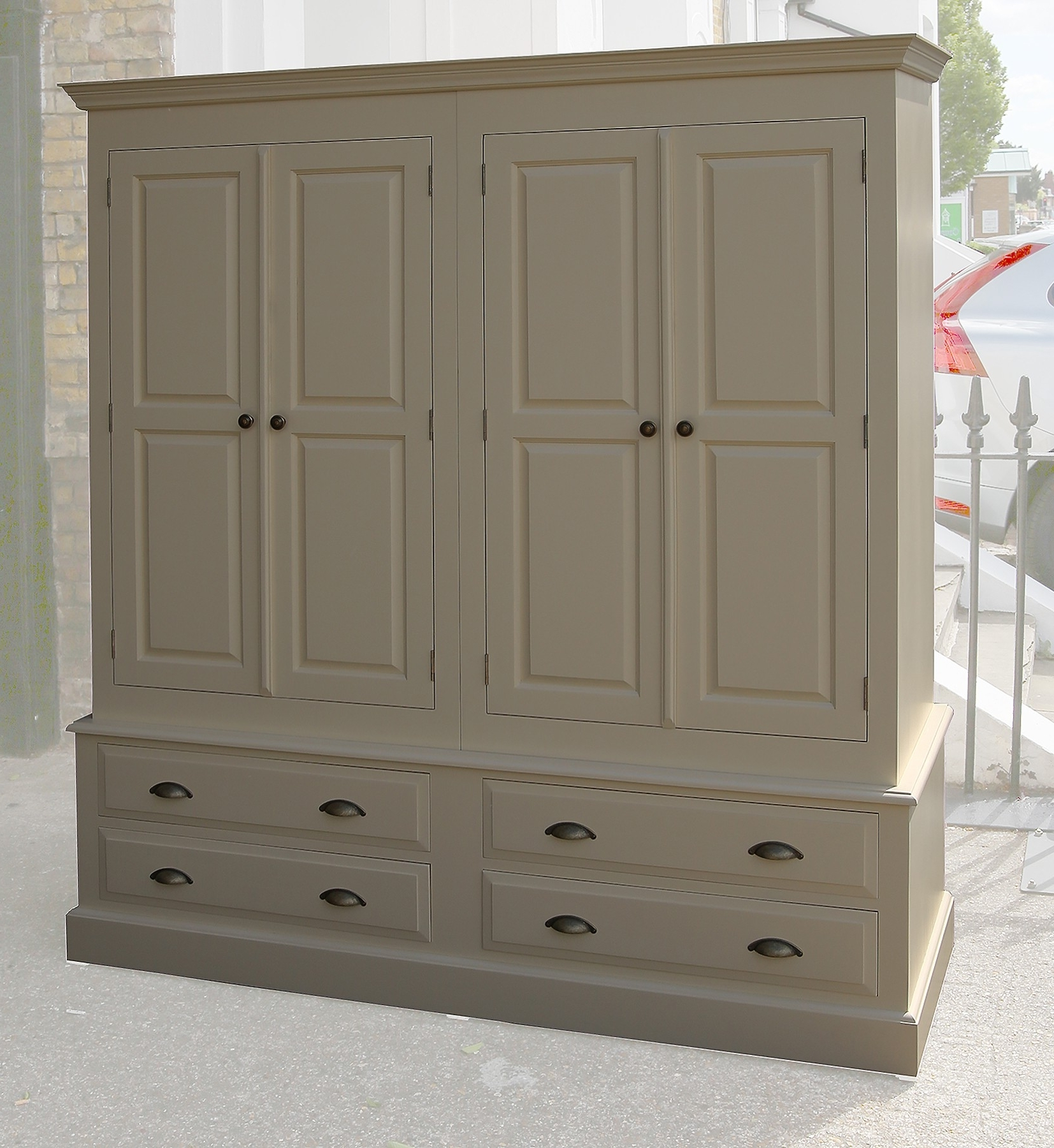 Most Recent Wardrobes With Drawers Short Wardrobe Cheap Kids Solid Pine White Throughout White Pine Wardrobes (View 6 of 15)