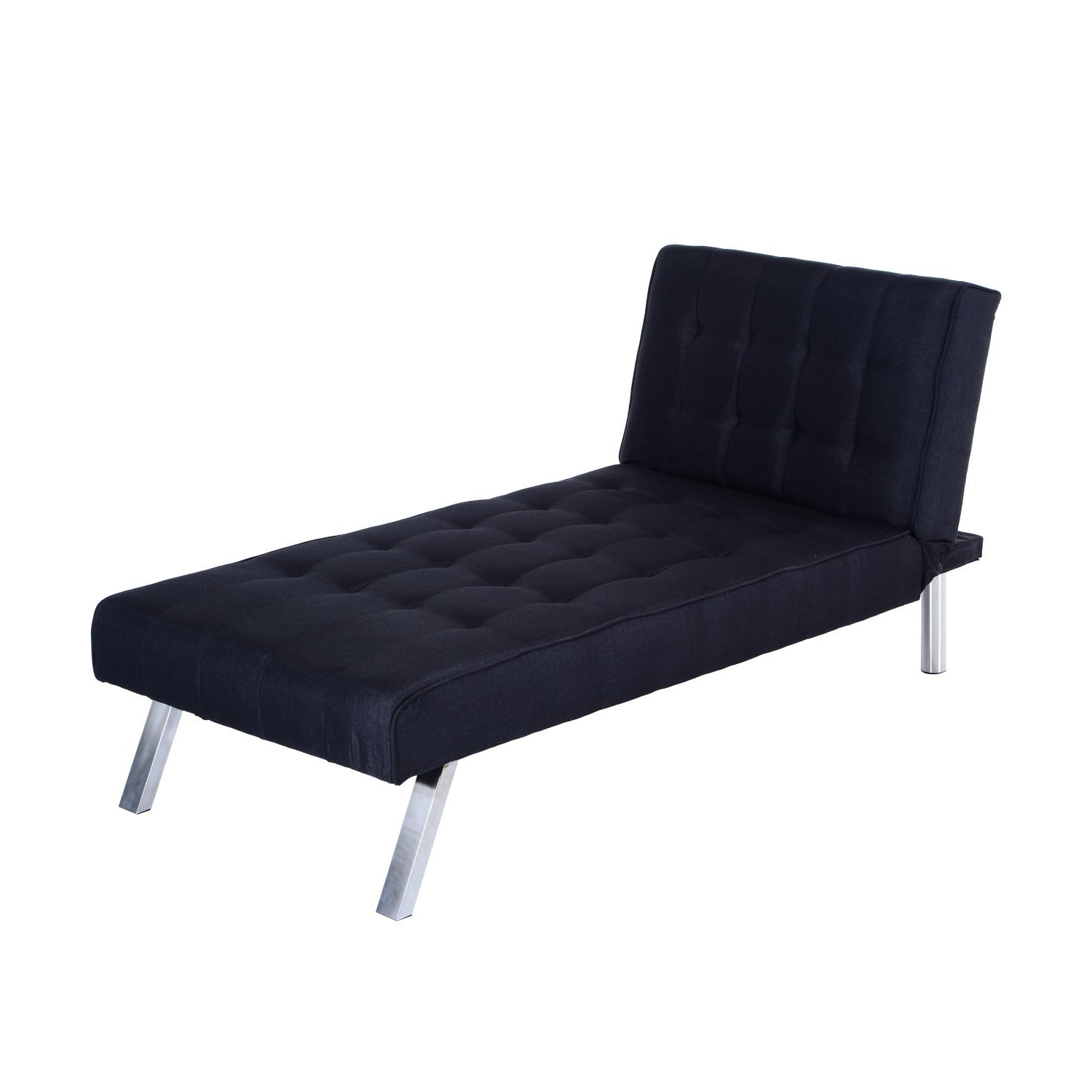 "Most Recently Released Amazon: Homcom 70"" Modern Reclining Chaise Lounge Sleeper Sofa With Regard To Reclining Chaise Lounges (View 15 of 15)"
