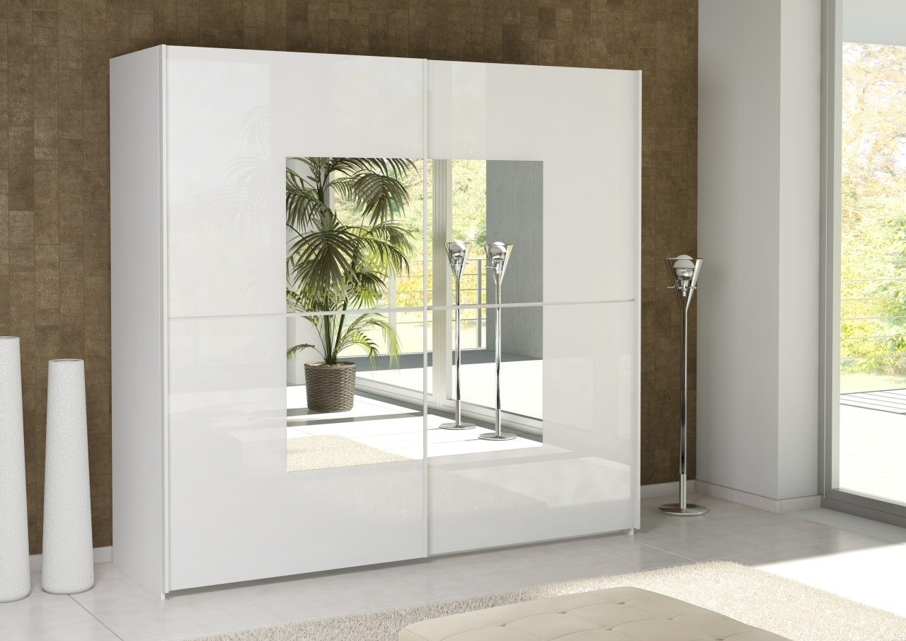 Most Recently Released Bergen Wardrobe White With Mirror Doors 3 Door Drawers And Argos With White 3 Door Mirrored Wardrobes (View 10 of 15)