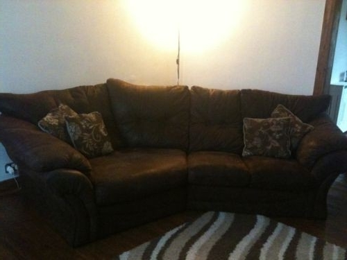 Most Recently Released Best Of The Range Corner Sofa – Mediasupload Within Faux Suede Sofas (View 10 of 10)