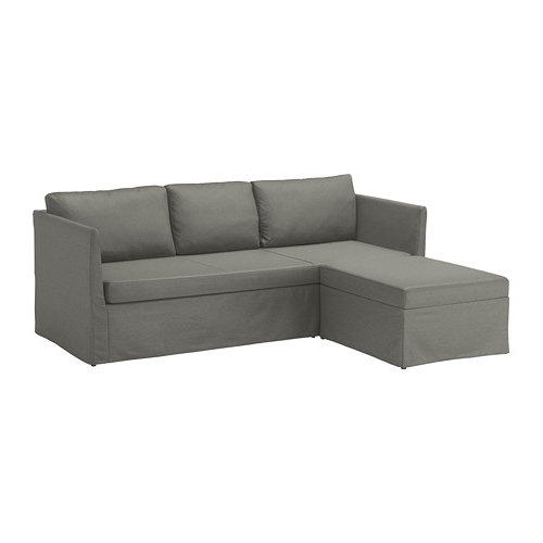 Most Recently Released Bråthult Sleeper Sectional, 3 Seat – Borred Gray Green – Ikea For Ikea Sectional Sleeper Sofas (View 2 of 10)