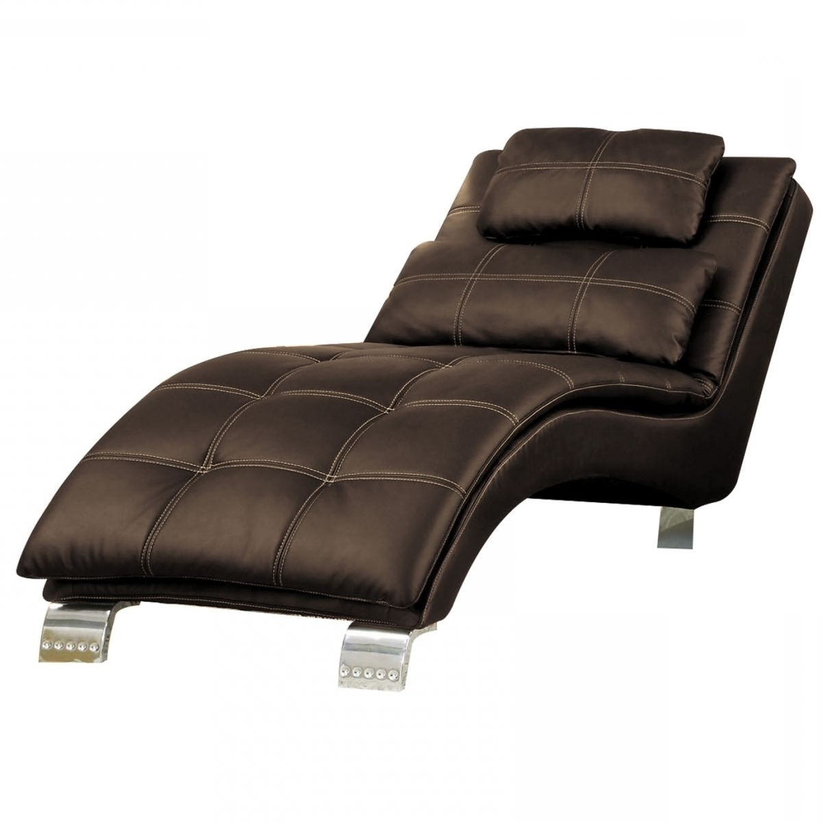 Most Recently Released Brown Chaise Lounges Regarding Badcock & More (View 8 of 15)