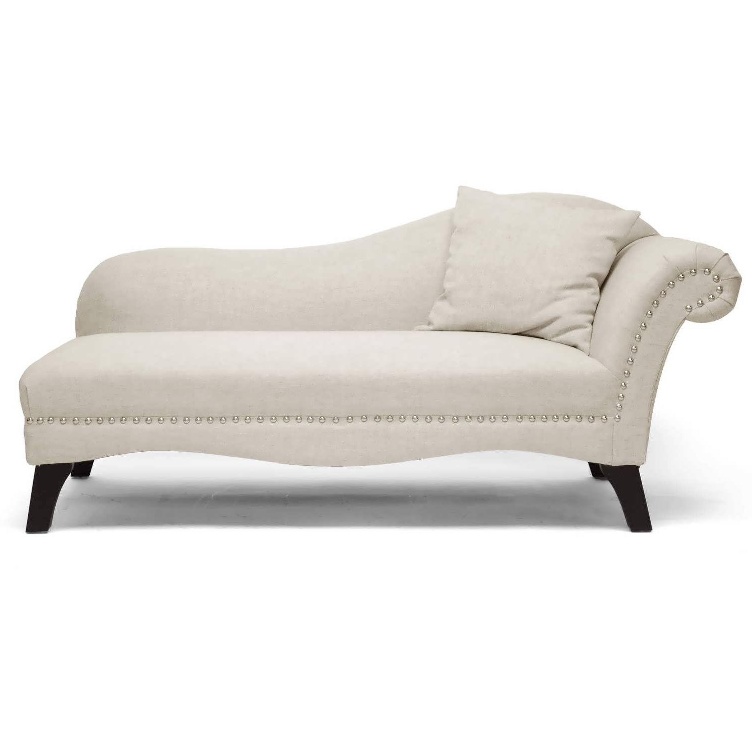Most Recently Released Chaise Couches Inside Sofa : Chaise Sofa Small Sectional Grey Couch Couches For Sale (View 11 of 15)