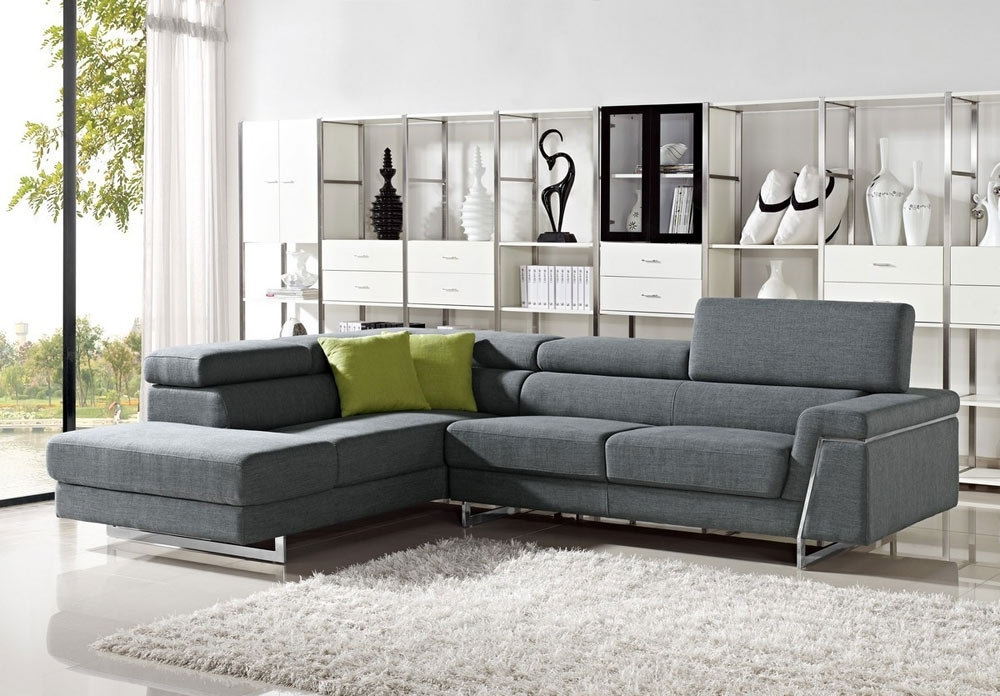 Most Recently Released Contemporary Fabric Sofas For Modern Fabric Sectional Sofa Sets – Elites Home Decor (View 7 of 10)