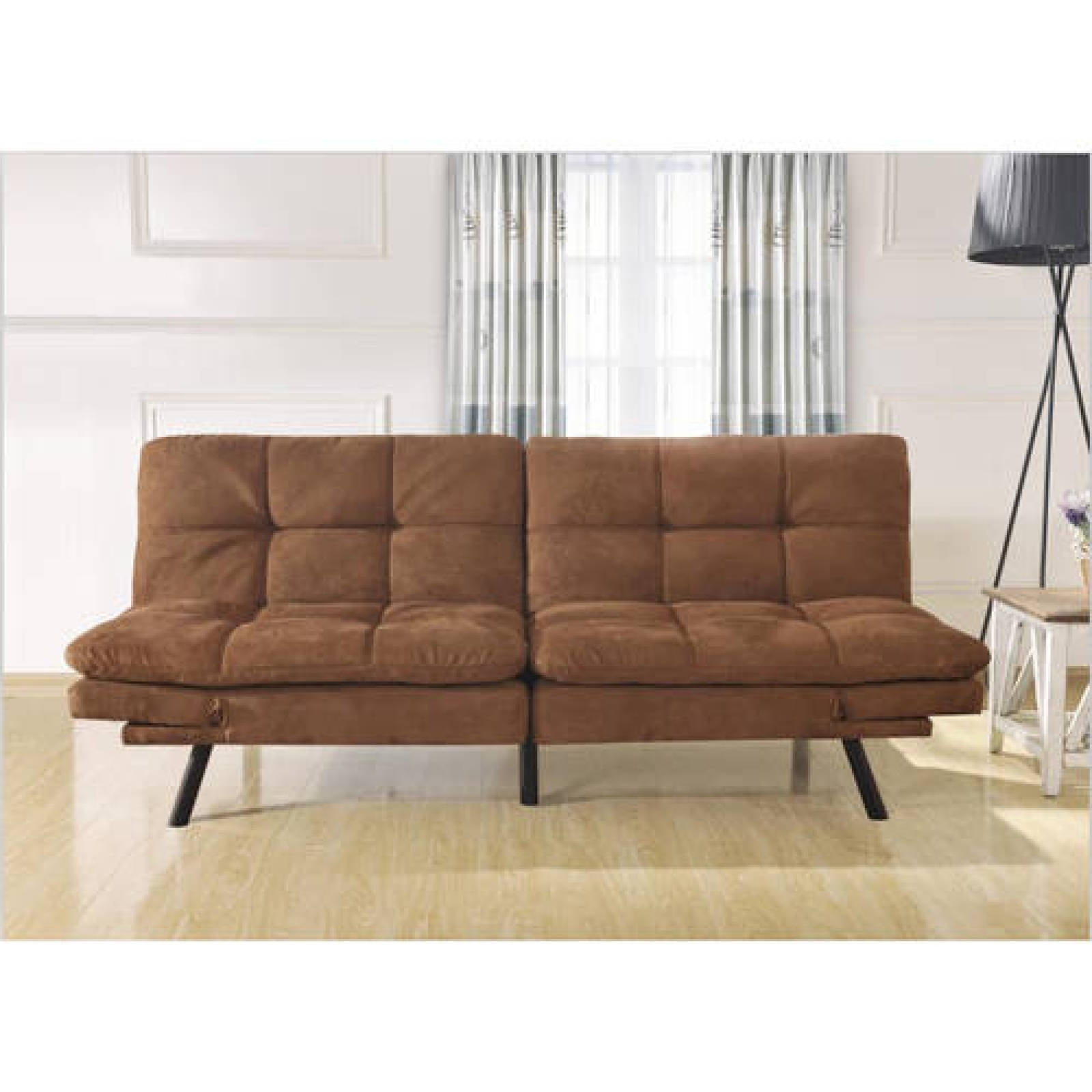 Most Recently Released Convertible Sofa Bed Couch Futon Chaises Chair Seat Memory Foam Throughout Futon Chaises (View 11 of 15)