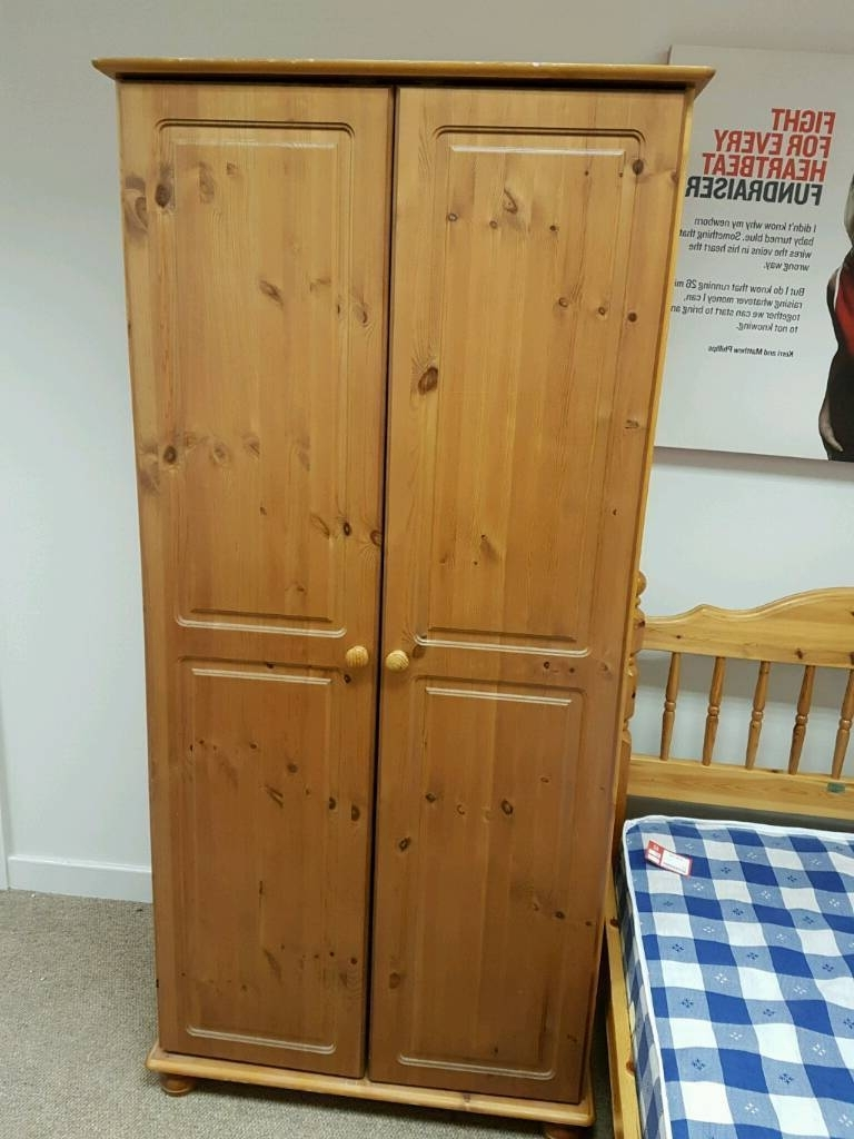 Featured Photo of Double Pine Wardrobes