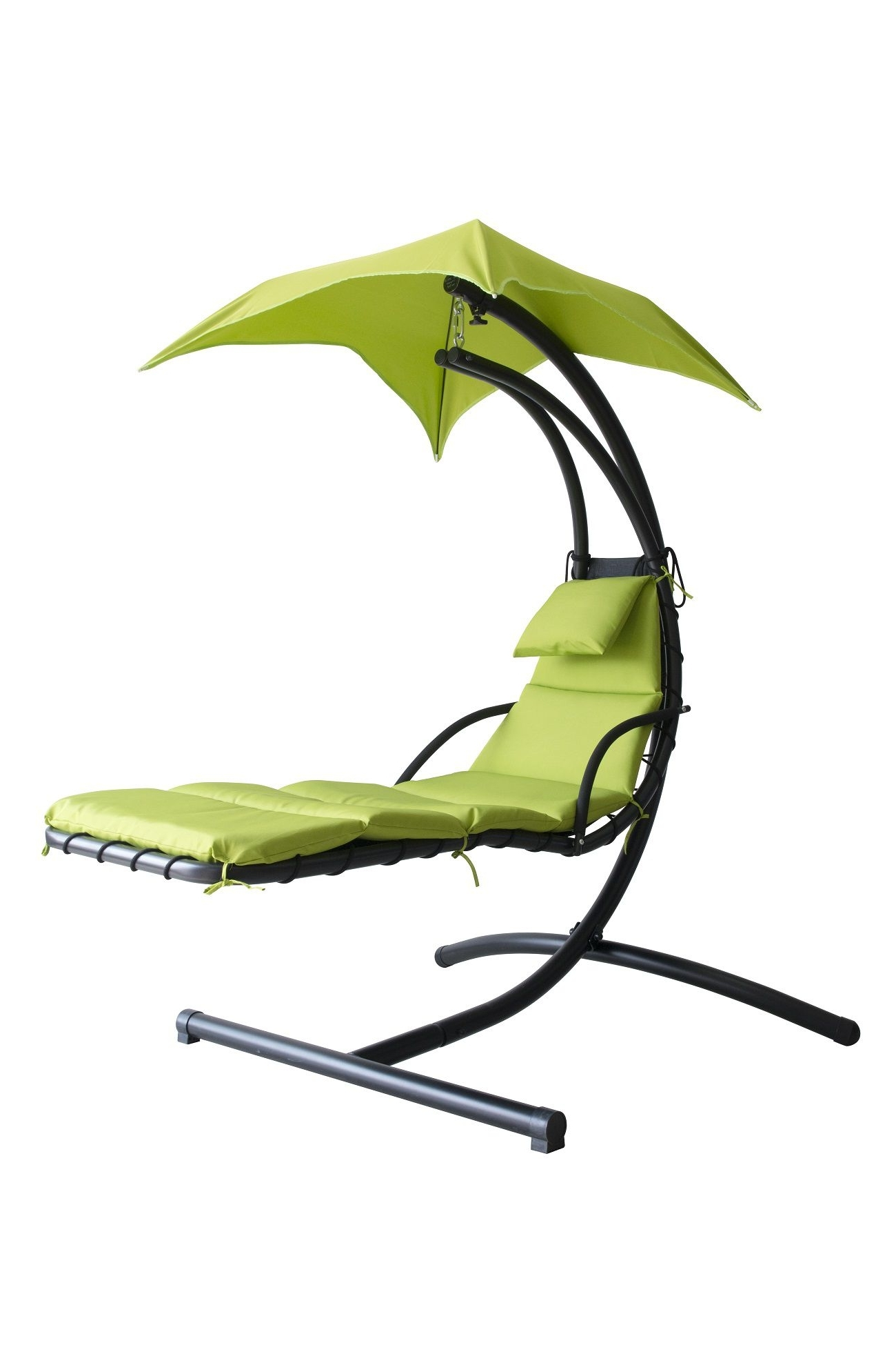 Most Recently Released Hanging Chaise Lounge Chairs Intended For Amazing Hanging Chaise Lounge Chair Hammock Swing Canopy Glider (View 14 of 15)