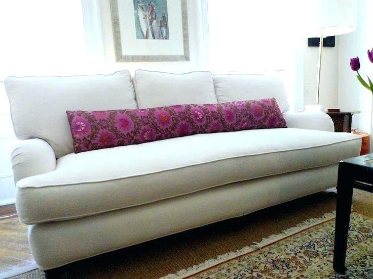 Most Recently Released Magnificent Single Cushion Sofa With Thesofa In Prepare 8 Inside One Cushion Sofas (View 10 of 10)