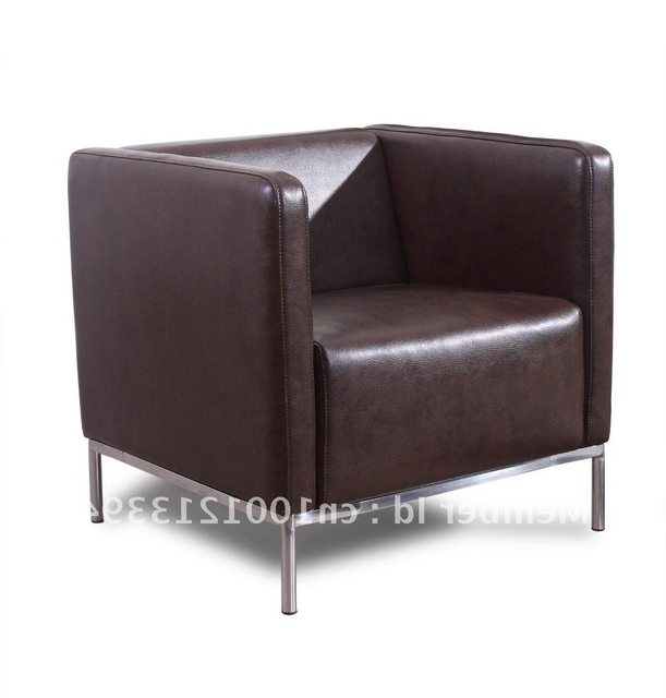 Most Recently Released Modern Furniture / Living Room Fabric/ Bond Leather Sofa/ Sofa Intended For Single Sofa Chairs (View 3 of 10)