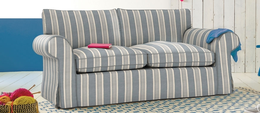 Most Recently Released Newport Sofas Regarding Newport (Stripe) (View 3 of 10)