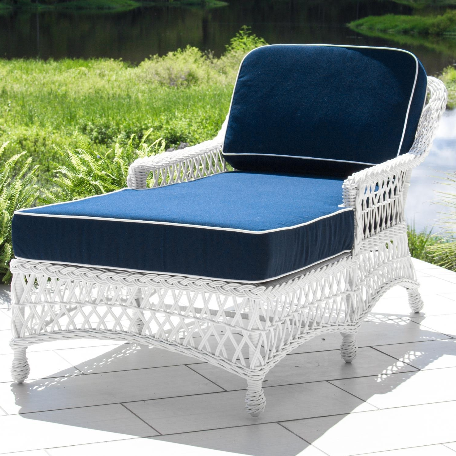 Most Recently Released Outdoor : Affordable Chaise Lounges Chaise Lounge Patio Furniture Inside Outdoor Wicker Chaise Lounges (View 13 of 15)