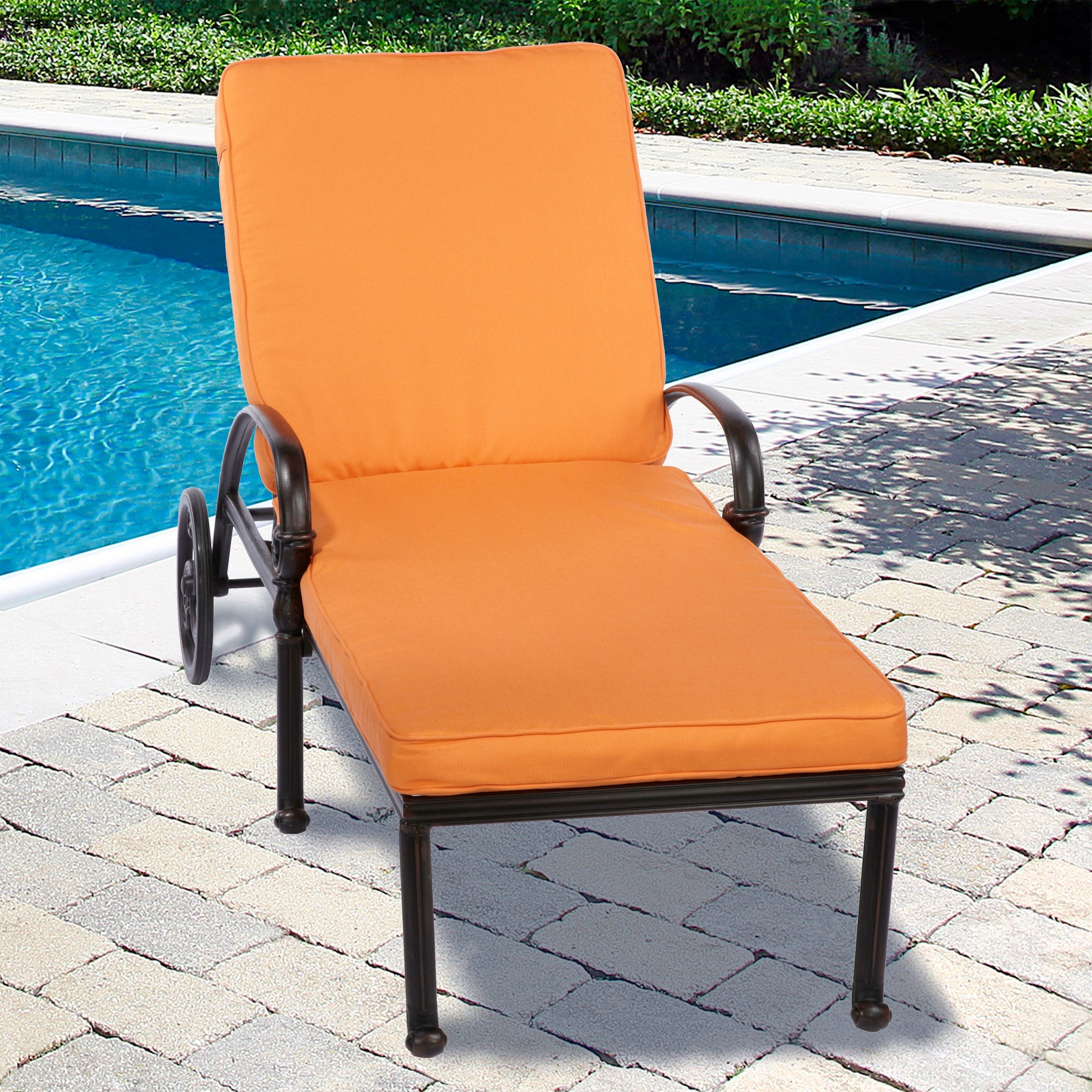 Most Recently Released Outdoor Cushions For Chaise Lounge Chairs For Convertible Chair : Outdoor Furniture Cushions Clearance Outside (View 12 of 15)