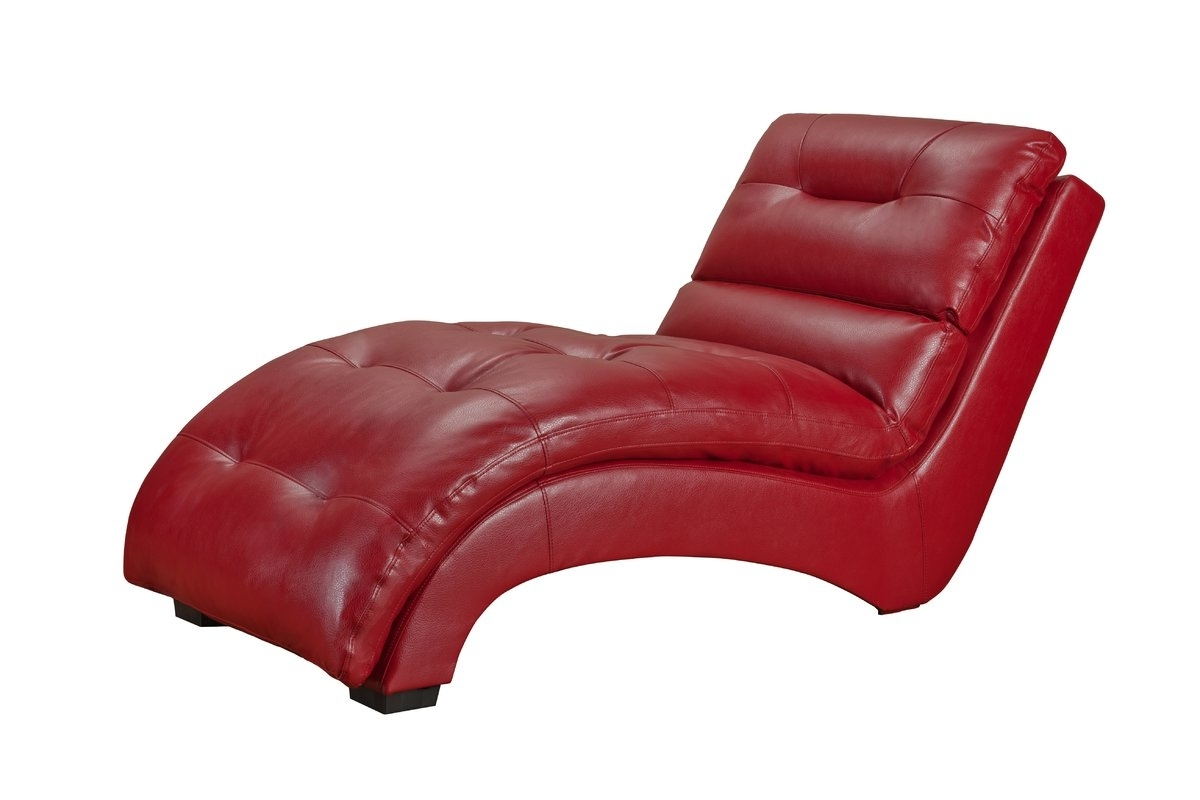 Most Recently Released Red Chaises In Picket House Furnishings Daphne Chaise Lounge & Reviews (View 8 of 15)