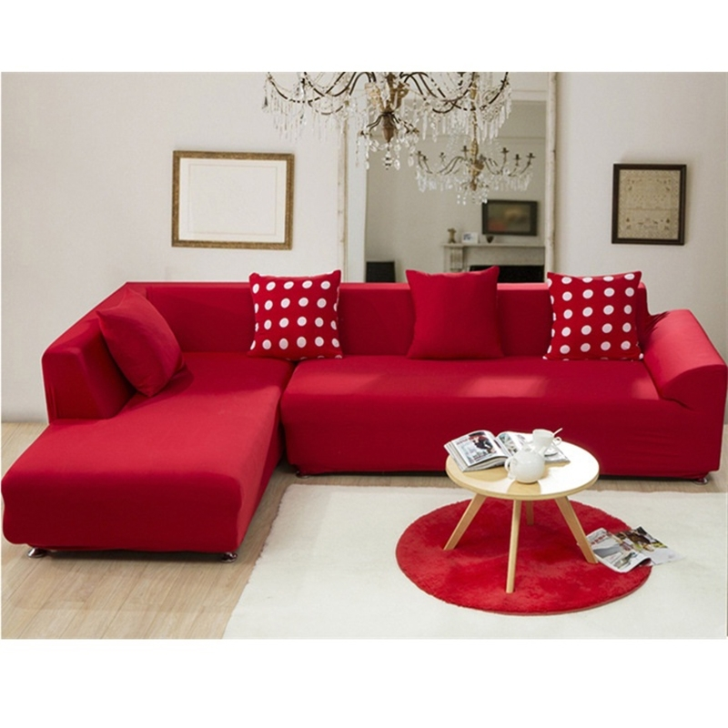 Most Recently Released Red Sofa Covers – Sofa A For Red Sofa Chairs (View 4 of 10)
